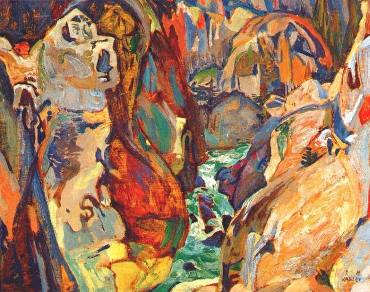Frederick-H-Varley-Cheakamus-Canyon-1929.