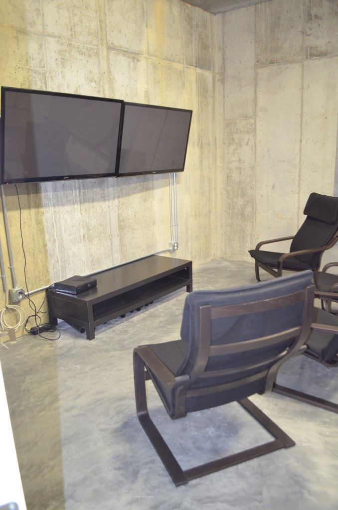 Great ideas for unfinished basement space basements and spaces - Great basement designs ...
