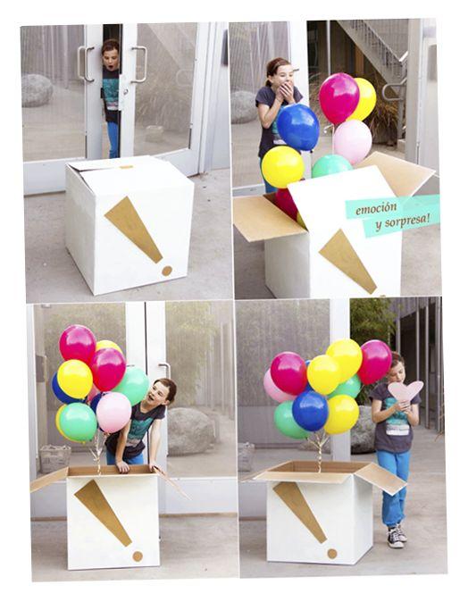 Presente de aniversário criativo II