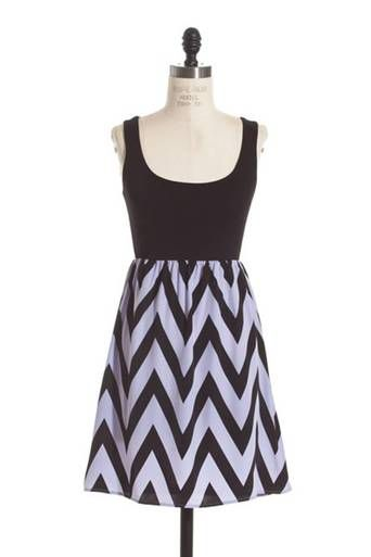 Lavender chevron bottom dress.  Must have dress! http://www.runwayomaha.com/lavender-chevron-bottom-dress/