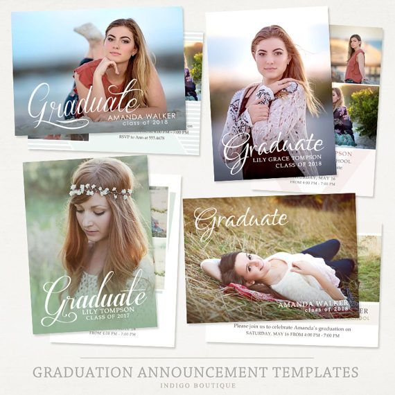 23 best Graduation Announcement Templates images on Pinterest - graduation announcement template