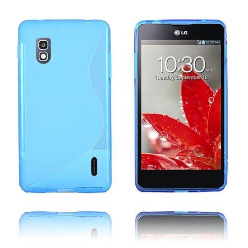 S-Line (Sininen) LG Optimus G E975 Suojakuori