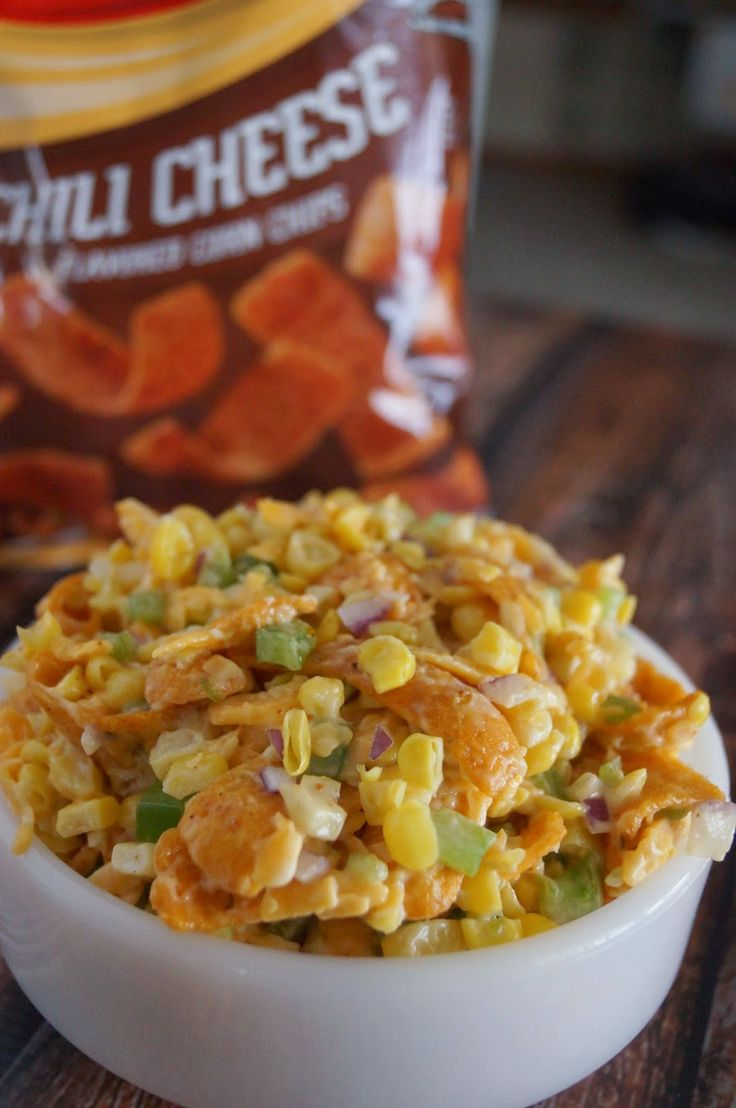 In the Kitchen with Jenny: Corn Salad #frito @inkitchenwjenny
