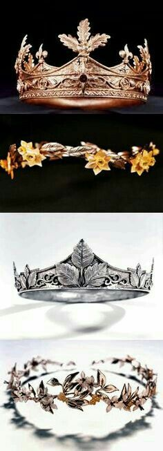 I would love Lucy's crown to be made into a ring. That would be everything