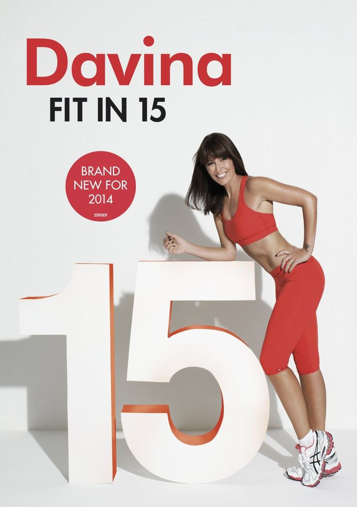 Davina Fit In 15 includes 4 very effective 15-minute workouts, and is currently one of the most popular workout DVDs in the UK.