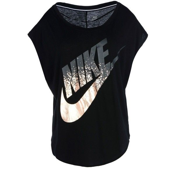 Nike T shirt ($38) ❤ liked on Polyvore featuring tops, t