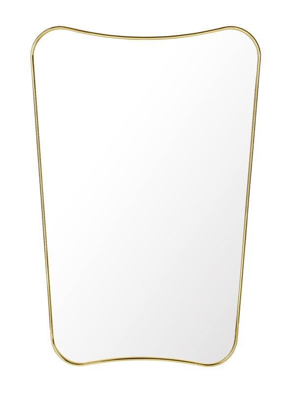 GUBI // F.A. 33 in brass, size L80 by Gio Ponti