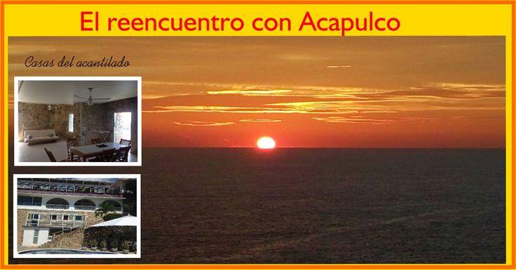 Mis Huidas por México: Casas del Acantilado, el reencuentro con Acapulco
