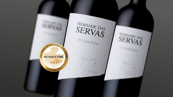 Herdade das Servas Reserva gewann Gold Medal - Mundus Vini 2017 - Deutschland