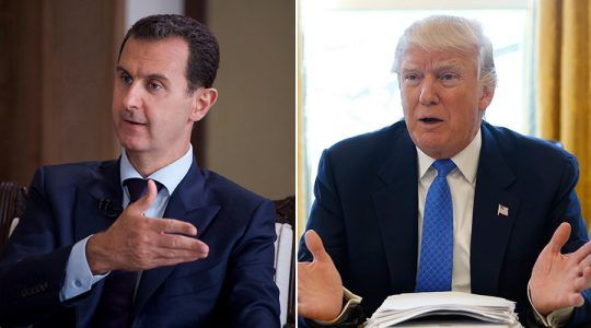 Trump is Puppet of US Deep State Has No Own Foreign Policy  Says President Assad #news #alternativenews