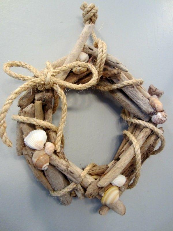 madera flotante flotador con cuerda
