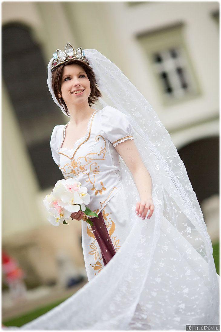 Best 25 tangled ever after ideas on pinterest rapunzel for Ever after wedding dress