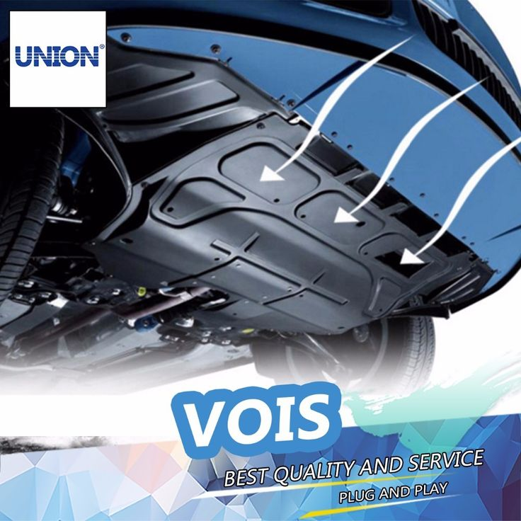 UNION Car styling Plastic engine guard 20082015 For Vios
