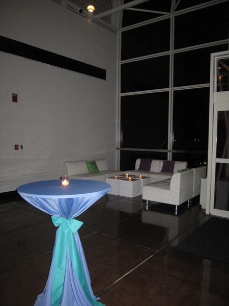 Corporate Event At The Missouri Botanical Garden. The Lounge Furniture  Looks Great In The Alcove
