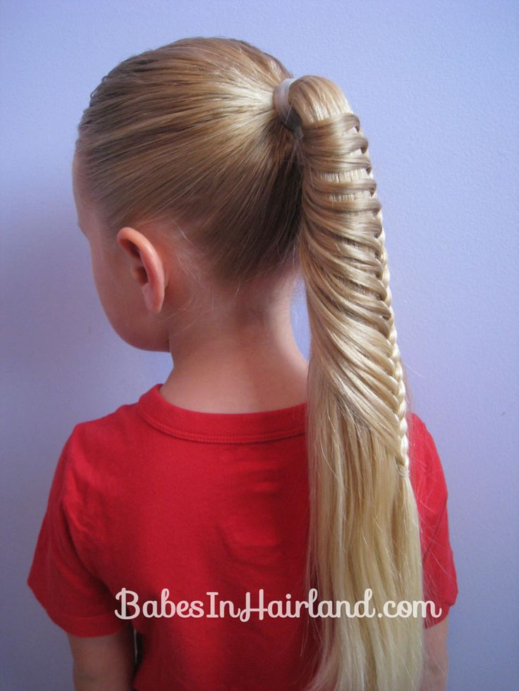 "I know this is a child....but this pin actually has the tutorial for how to do the ""Ladder Braid"""