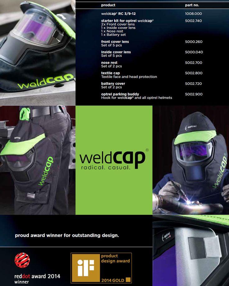 Welding Equipment, UK - Optrel WeldCap Welding Helmet