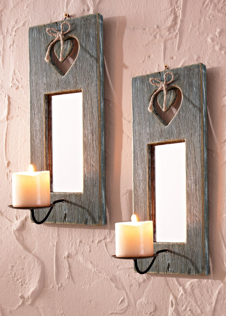 Portacandele da parete «Cuore» acquista online - bonprix.it
