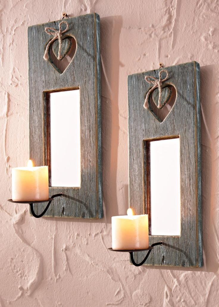 Oltre 1000 idee su portacandele a parete su pinterest - Portacandele da parete ...