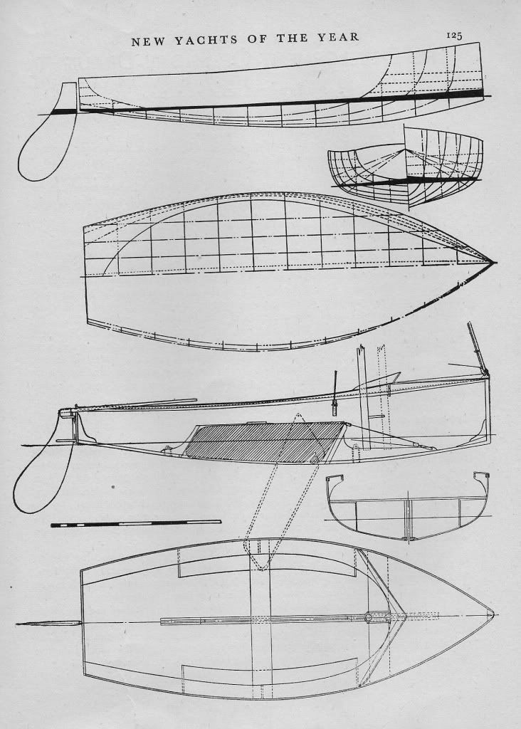 12' sailing dinghy design