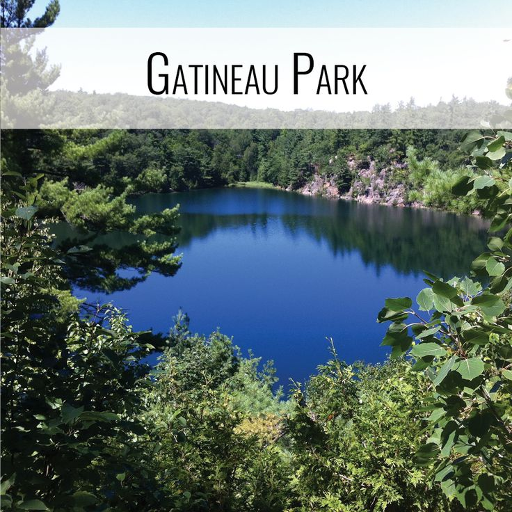 Gatineau Park, Quebec - just 15 minutes from downtown Ottawa (PetiteAdventures.org)