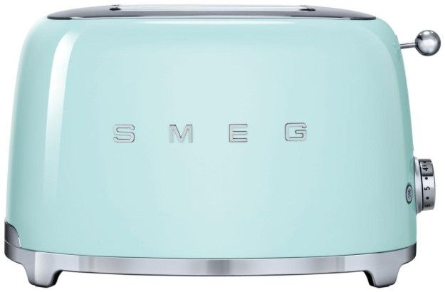 An awesomely retro toaster that comes in a variety of colors.