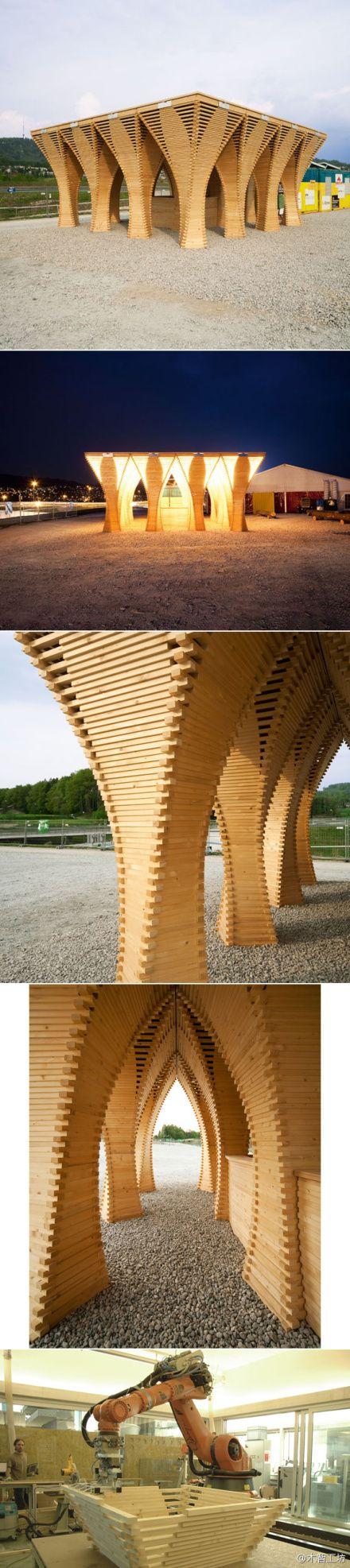 wood automan Pavilion                                                                                                                                                                                 More