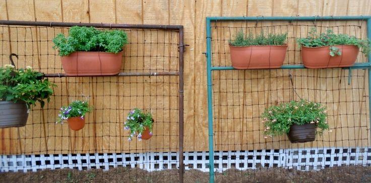 DIY Upcycled Garden Gates
