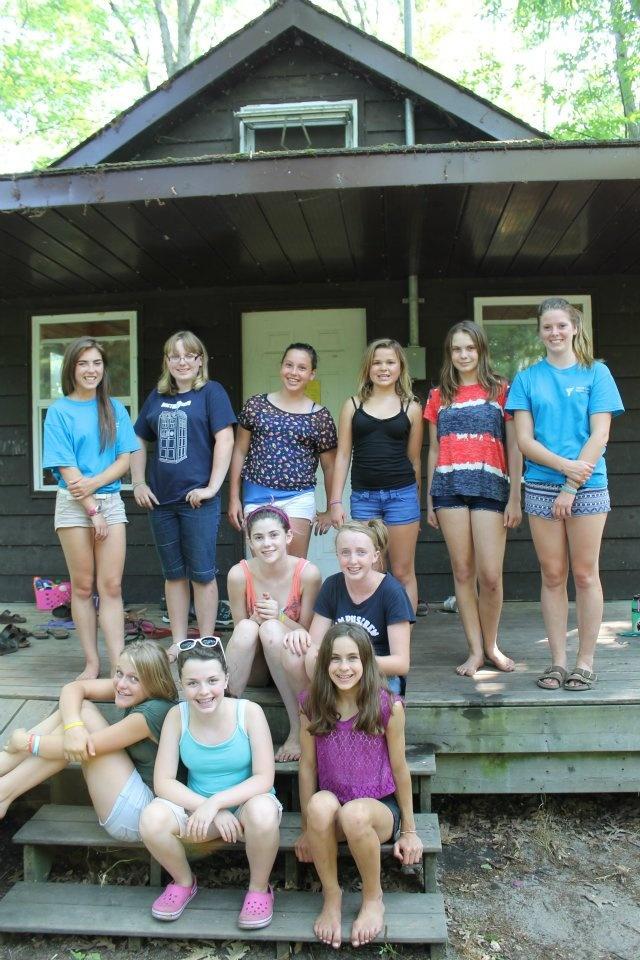 youth at camp kitchi