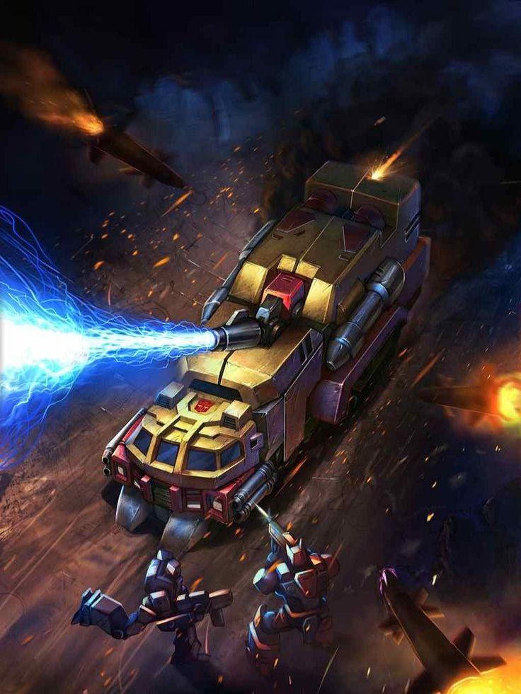 Autobots Leader Sentinel Prime Artwork From Transformers Legends Game