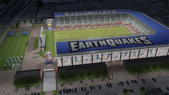 New San Jose Earthquakes stadium coming soon.