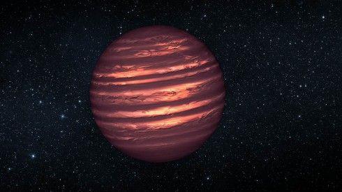 Observation météorologique d'une étoile de type naine brune