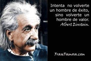 Frase Famosa - Frases de Valor - Frases de Albert Einstein