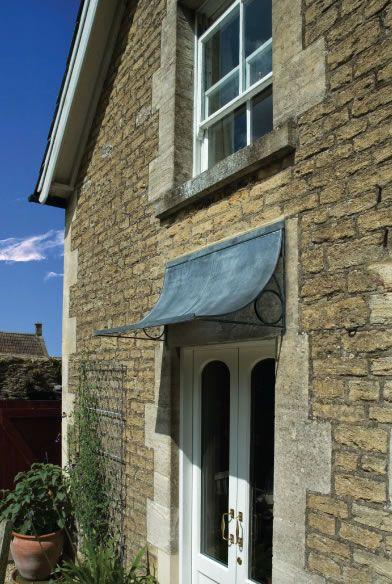 Door canopy 4' wide - Bespoke door canopy designs from Garden Requisites.