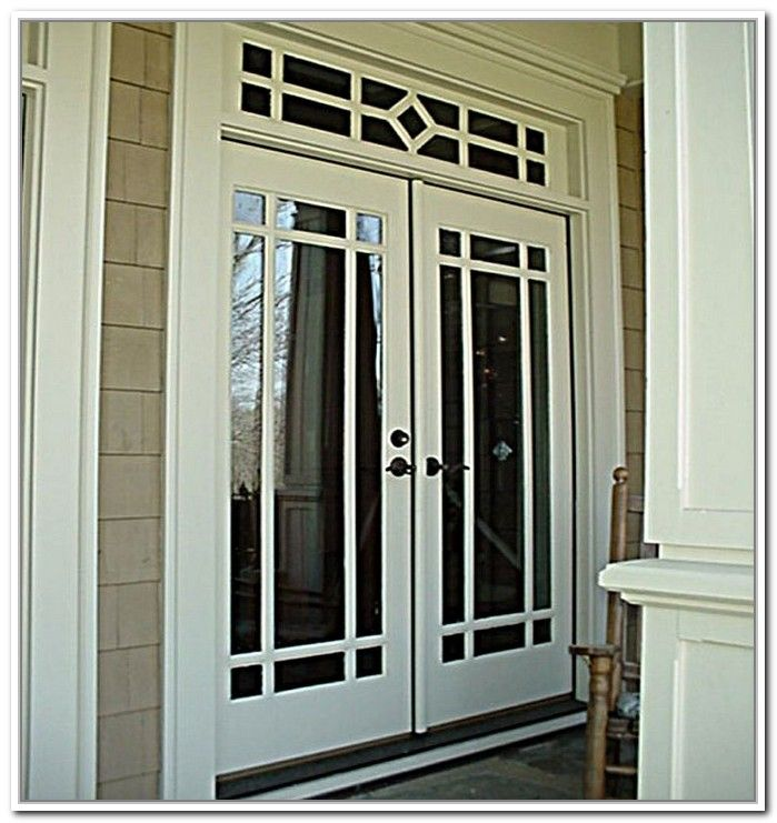 48 Inch Exterior French Doors Photo 4 In 2019 French