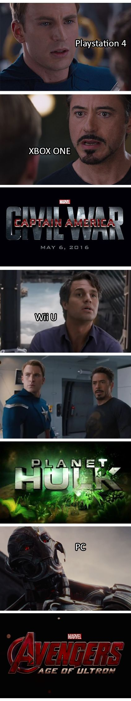 Captain America Civil War funny