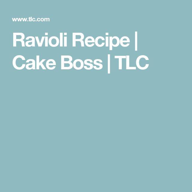 Ravioli Recipe | Cake Boss | TLC