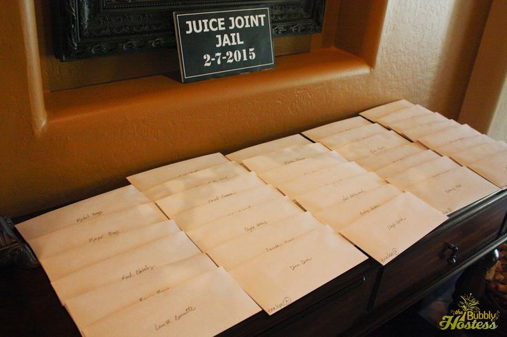 Envelope A - Murder At The Juice Joint - A Murder Mystery Party - Night of Mystery | The Bubbly Hostess