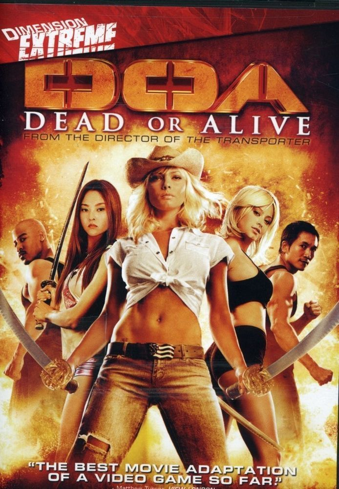 """DOA"" Dead or Alive from Dimension EXTREME DVD"