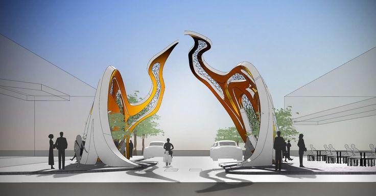 Footscray's Welcome Arch concept design celebrates Vietnamese ...