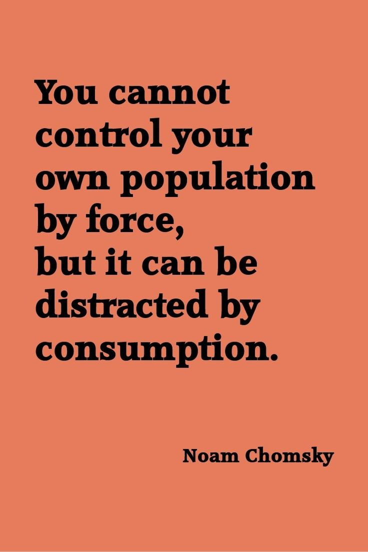Noam Chomsky Oh, the irony of posting this to Pinterest alongside designer dresses and expensive homes.