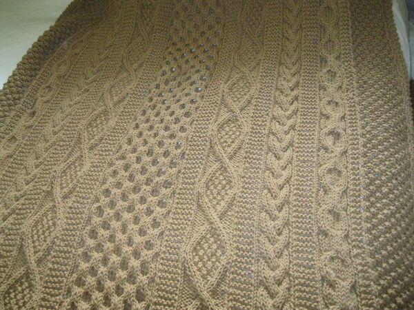 Aran Afghan Mary Maxim Pattern Aran Knitting Patterns
