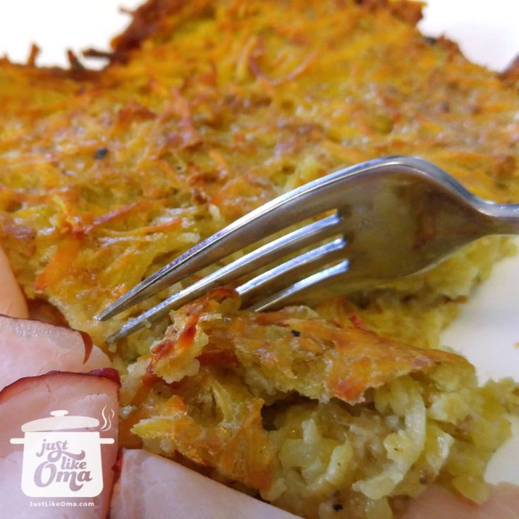 Baked Potato Pancakes are so easy to make. Tasting like they were fried, but, so much easier to make. ❤️ Recipe: http://www.quick-german-recipes.com/potato-pancakes-recipe.html