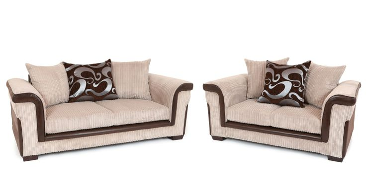 With a contemporary styled design and a striking contrast of textures, shapes and quality jumbo cord fabric, this brand new British made sofa makes a sophisticated addition to any living space. The Carlisle sofa is available as a 3 + 2 seater sofa set in various colour fabrics for just £459.  Tel: 07446824535 (Mon-Sun 9am to 9pm) Tel: 0161 620 6517 (Mon-Fri 9am to 6pm)