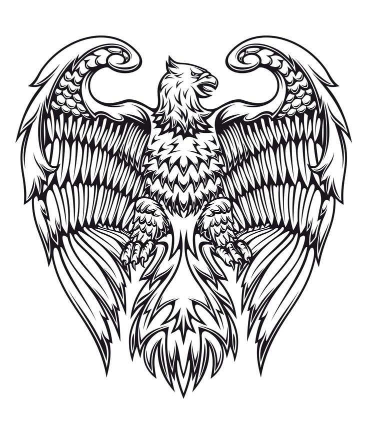 king stars ideas | Griffin tattoo designs black