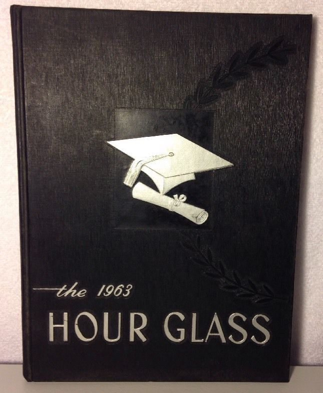 Hour Glass Anniston High School Yearbook 1963 Alabama - Named Owner