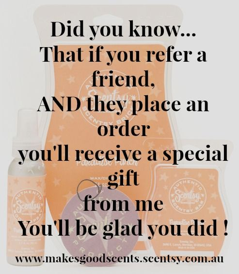 I will reward all referrals so please like and share Http://jaggersbest.scentsy.us #scentsy #makesgoodscents
