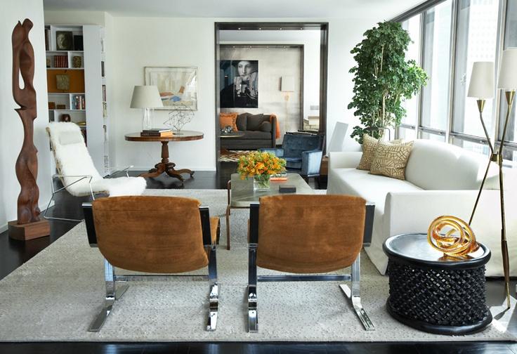 Un plaza new york david scott interior design homes for New york style interior