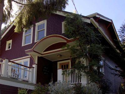 purple house exterior | Exterior Painting Colors, Vintage Wine Exterior Paint