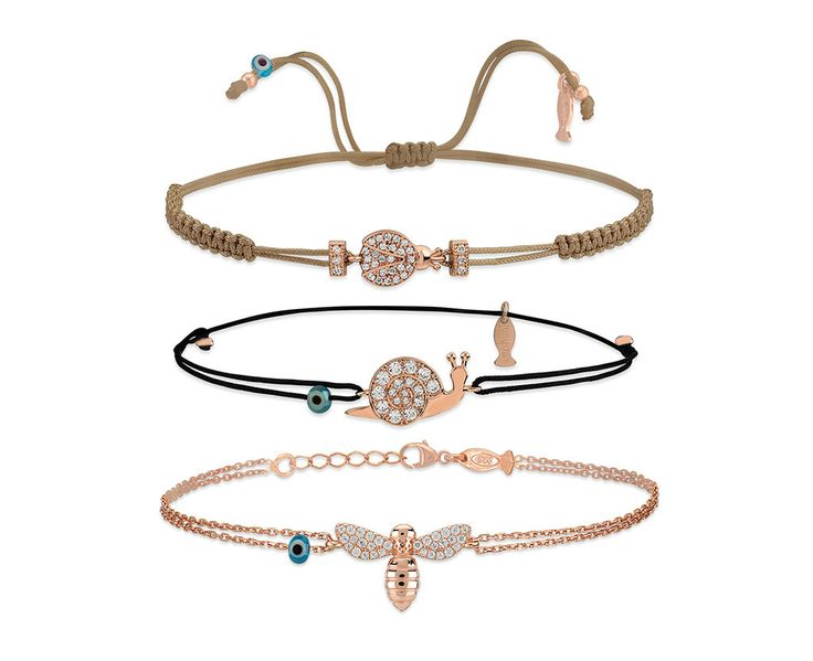 Kurshuni | AIBIJOUX  Ladybug, snail and bee: new charms from Springc Collection 2017.