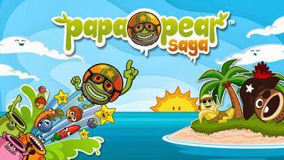 """Ya está aquí """"Papa Pear Saga"""" de los creadores del famoso Candy Crash Saga, gratis  Descarga gratis Papa Pear Saga para iPhone, iPad y Andro..."""